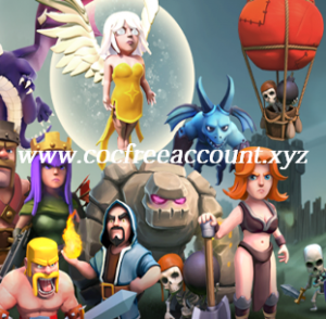 Free COC Accounts List March 2018