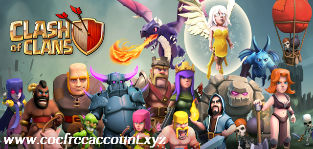 Clash of Clans Free Accounts 2018 March