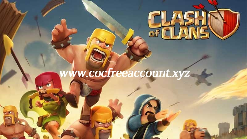 Free COC Account Email and Password 2018