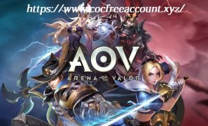 Free Arena of Valor Accounts from Google+