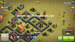 coc free account android 2018